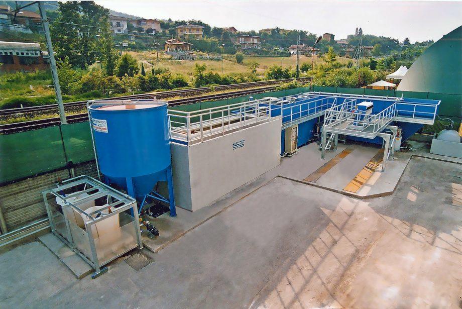 Akzo Nobel Coatings: impianto di Depur Padana Acque per trattamento acque e impianto di depurazione