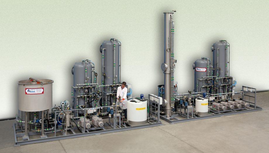 Ansaldo Energia: impianto di Depur Padana Acque per trattamento acque e impianto di depurazione