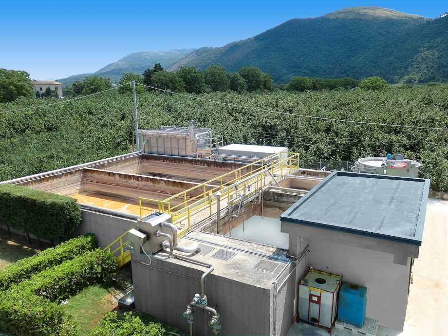 Caseificio Sorì: impianto di Depur Padana Acque per trattamento acque e impianto di depurazione