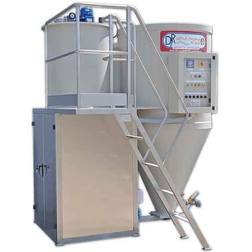 impianto depurazione acque ECOSAR di Depur Padana Acque