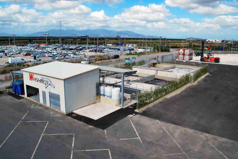 Kortimed: impianto di Depur Padana Acque per trattamento acque e impianto di depurazione