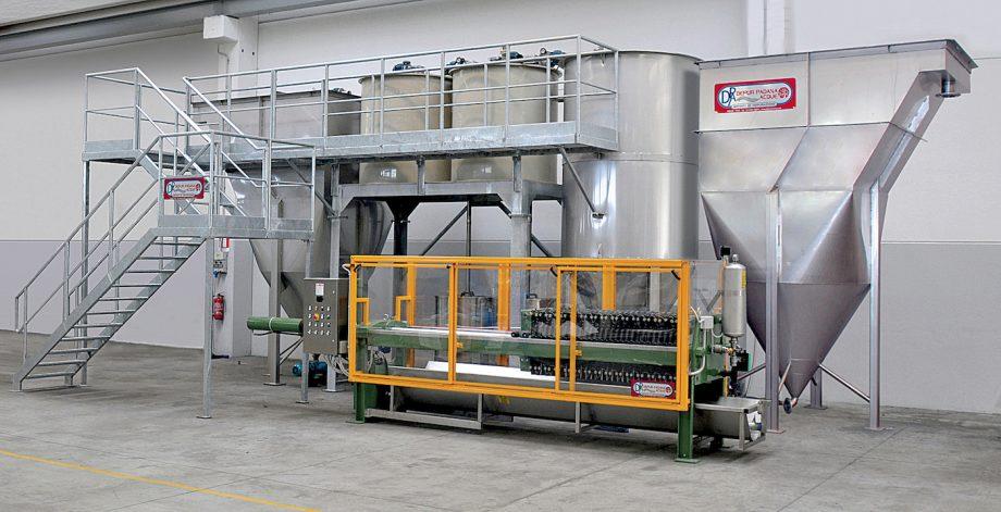 L'Erbolario: impianto di Depur Padana Acque per trattamento acque e impianto di depurazione