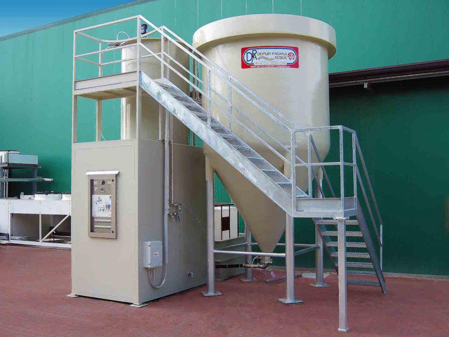 Naturello: impianto di Depur Padana Acque per trattamento acque e impianto di depurazione