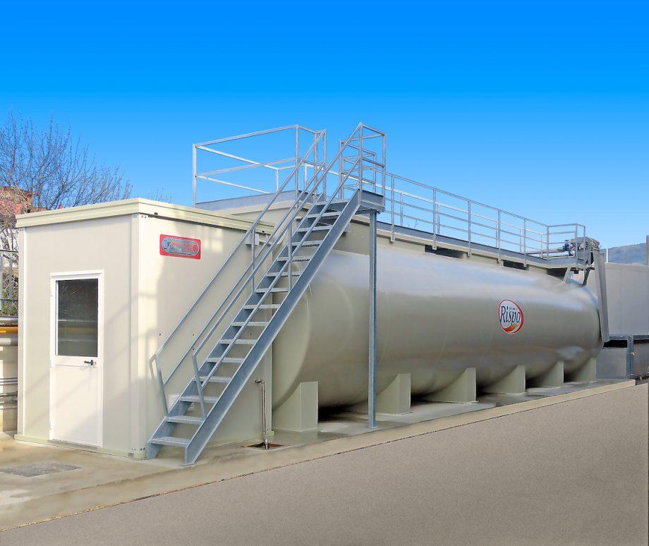 Rispo: impianto di Depur Padana Acque per trattamento acque e impianto di depurazione