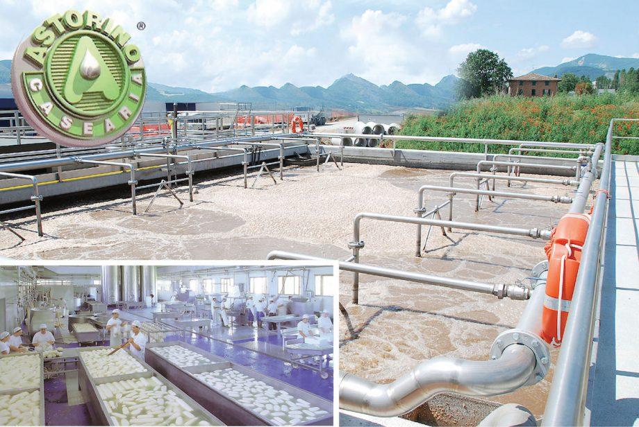 Caseificio Astorino: impianto di Depur Padana Acque per trattamento acque e impianto di depurazione