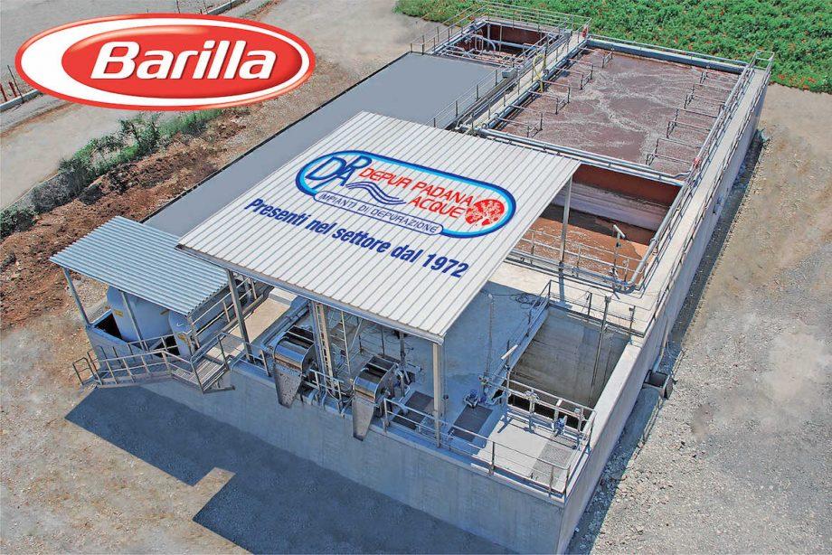 Barilla: impianto di Depur Padana Acque per trattamento acque e impianto di depurazione