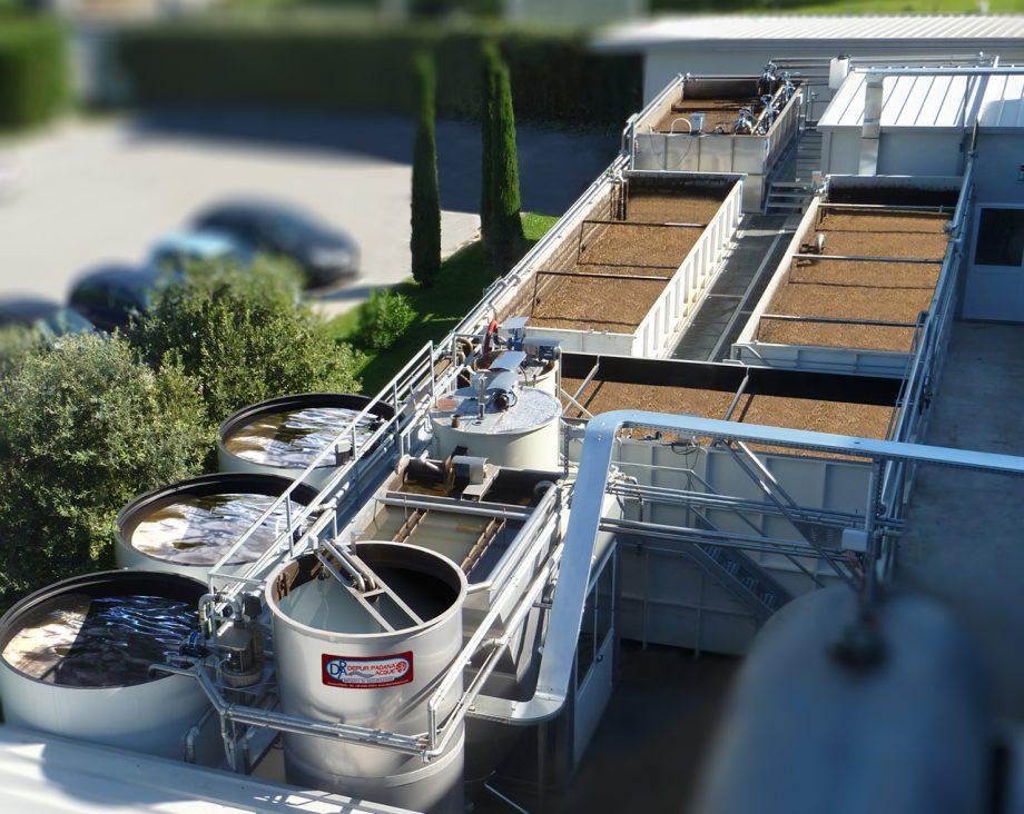 Biofarma: impianto di Depur Padana Acque per trattamento acque e impianto di depurazione