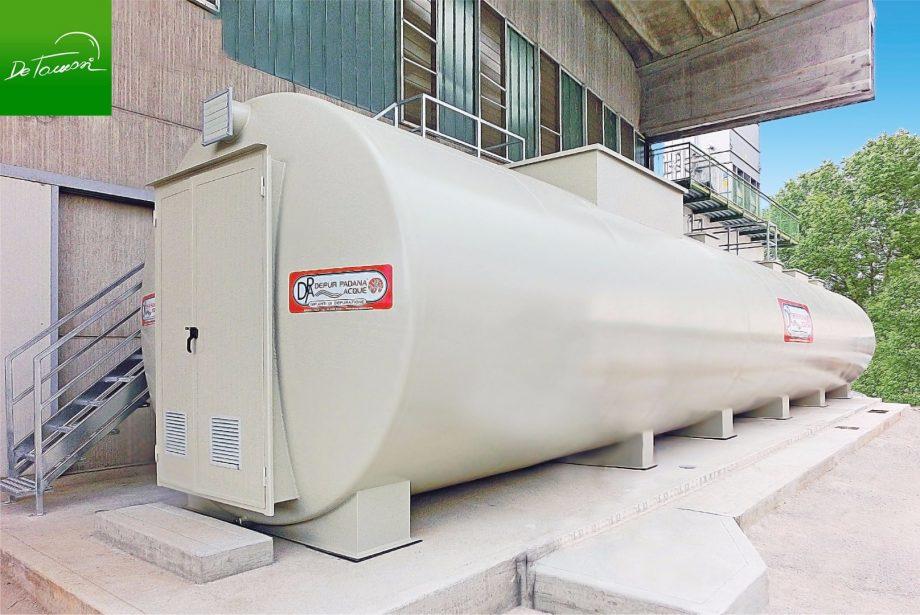 De Tomasi Ice: impianto di Depur Padana Acque per trattamento acque e impianto di depurazione