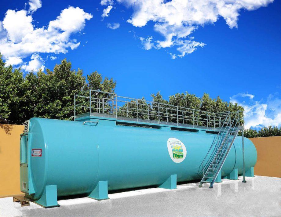 Caseificio Delizie della Natura: impianto di Depur Padana Acque per trattamento acque e impianto di depurazione