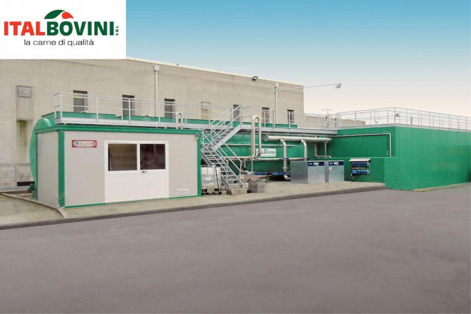 Macello Italbovini: impianto di Depur Padana Acque per trattamento acque e impianto di depurazione