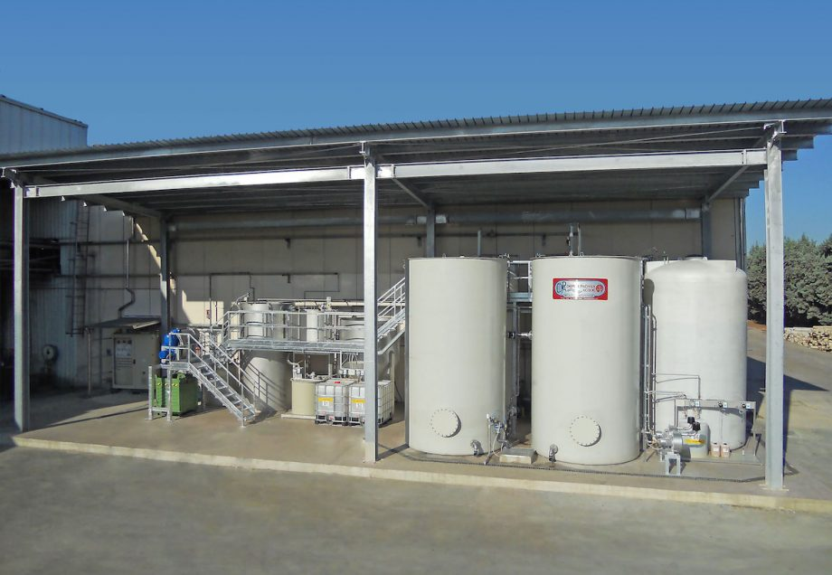 Mauro Benedetti Spa: impianto di Depur Padana Acque per trattamento acque e impianto di depurazione