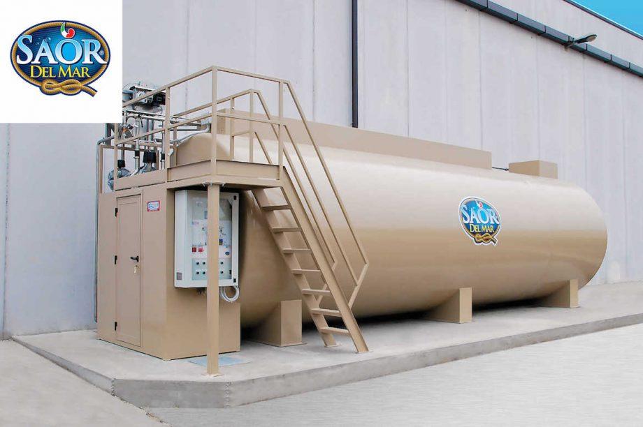Saor del Mar: impianto di Depur Padana Acque per trattamento acque e impianto di depurazione