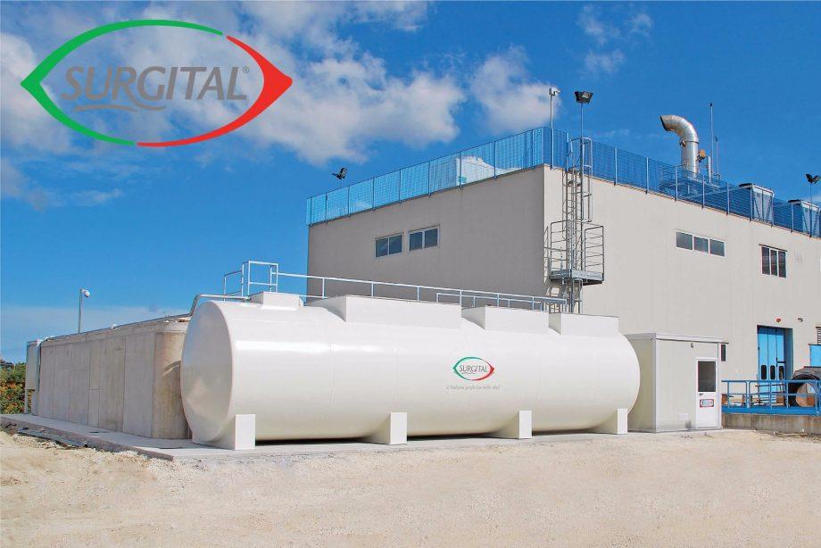 Suirgital: impianto di Depur Padana Acque per trattamento acque e impianto di depurazione