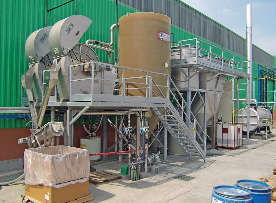 Clearpet: impianto di Depur Padana Acque per trattamento acque e impianto di depurazione
