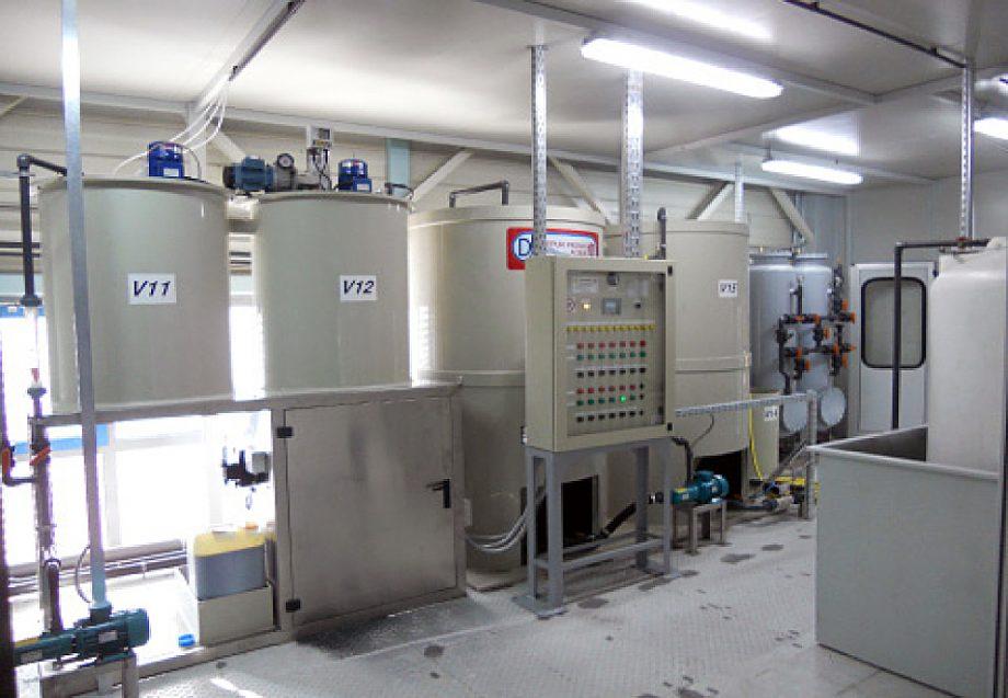 Festo: impianto di Depur Padana Acque per trattamento acque e impianto di depurazione
