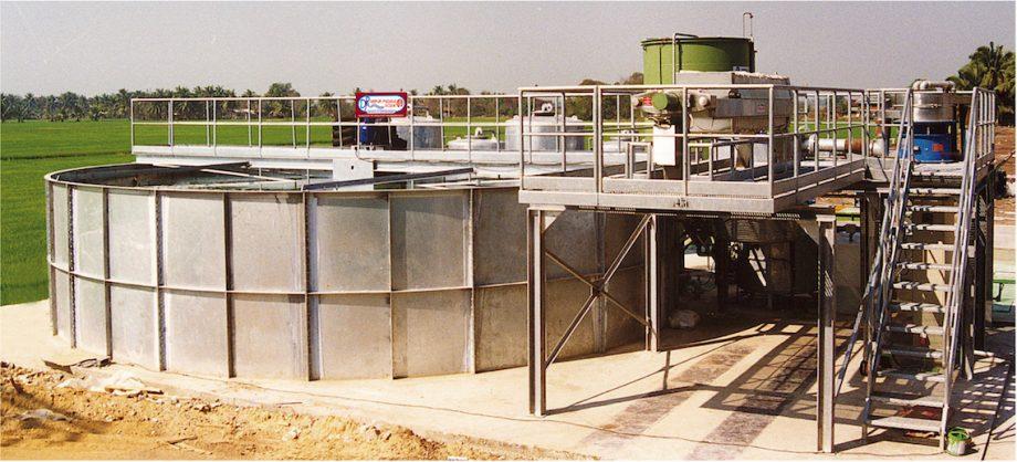 PET Recycle Thailand: impianto di Depur Padana Acque per trattamento acque e impianto di depurazione