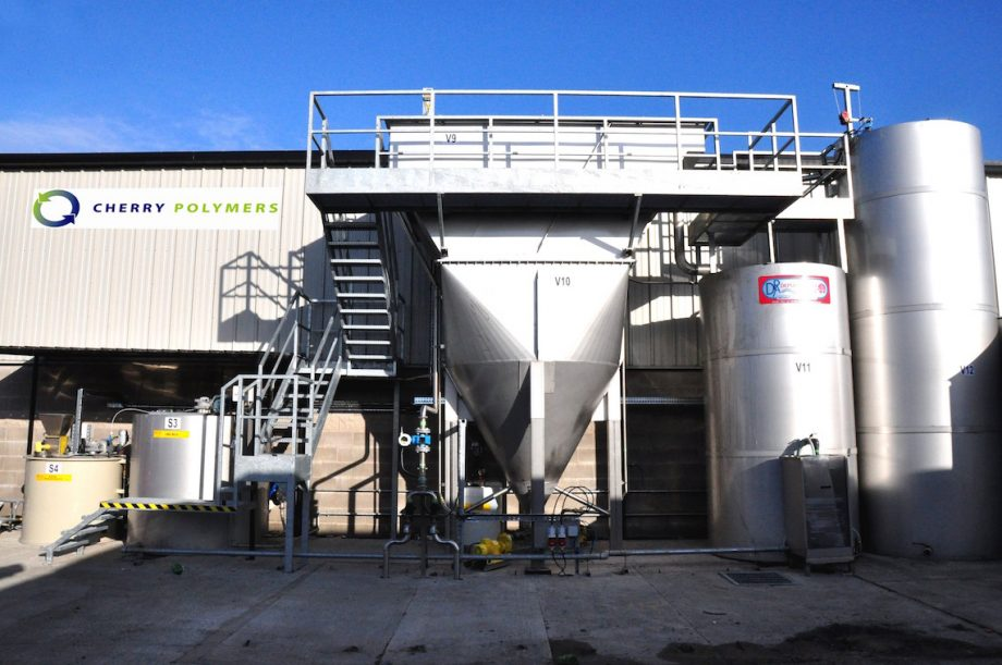 Cherry Polymers: impianto di Depur Padana Acque per trattamento acque e impianto di depurazione