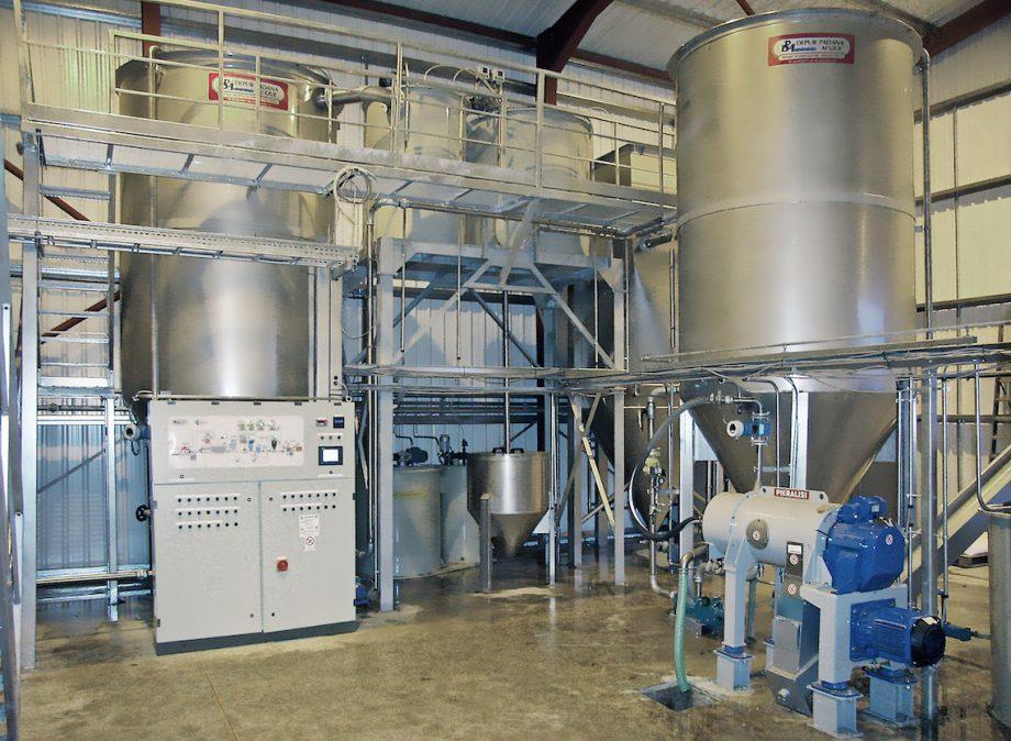 Viridor: impianto di Depur Padana Acque per trattamento acque e impianto di depurazione